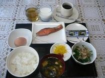 日替わり朝食一例