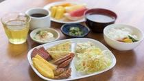 朝食ビュッフェ・メニューは日替わり☆
