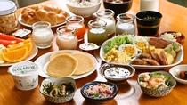 朝食一例(和洋)お好みで和食スタイル、洋食スタイル
