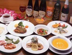 ★欧風家庭料理フルコース(夕食)