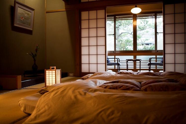 客室 寝具