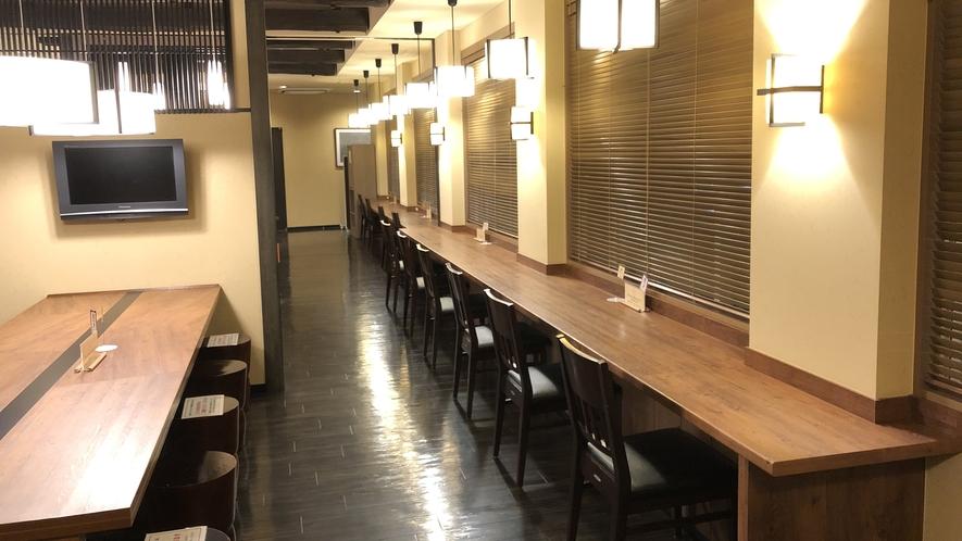 朝食会場・万咲(席イメージ)