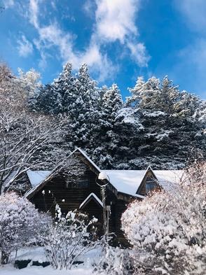 【秋冬旅セール】中央アルプスの麓ログペンションでやすらぎの山小屋体験(1泊2食付き)