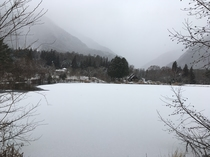 駒ヶ池(冬)