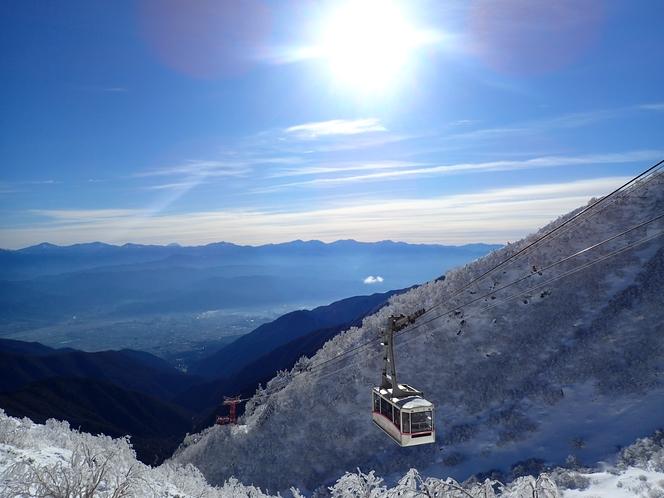 駒ケ岳ロープウェイ(冬)