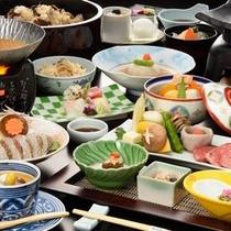 鯛鍋+前沢牛