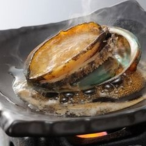 追加料理:あわびの酒蒸し(イメージ)