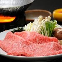 追加料理:前沢牛のしゃぶしゃぶ180g(イメージ)