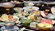 料理選べるプラン「鯛鍋+前沢牛」
