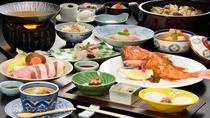 料理選べるプラン「白金豚+吉次の姿焼き」