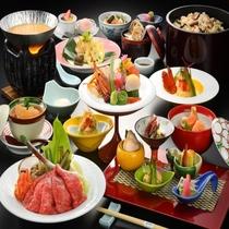 季節の味覚お料理コース「優香」