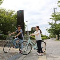 【レンタサイクル】潮風に吹かれながら、自転車で舞洲を探検してみませんか?