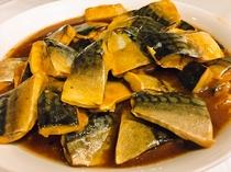 【朝食バイキング】サバの味噌煮