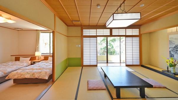 ■禁煙バストイレ付和洋室[特別室](12畳+2ベッド)