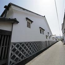 萩の町(白壁)