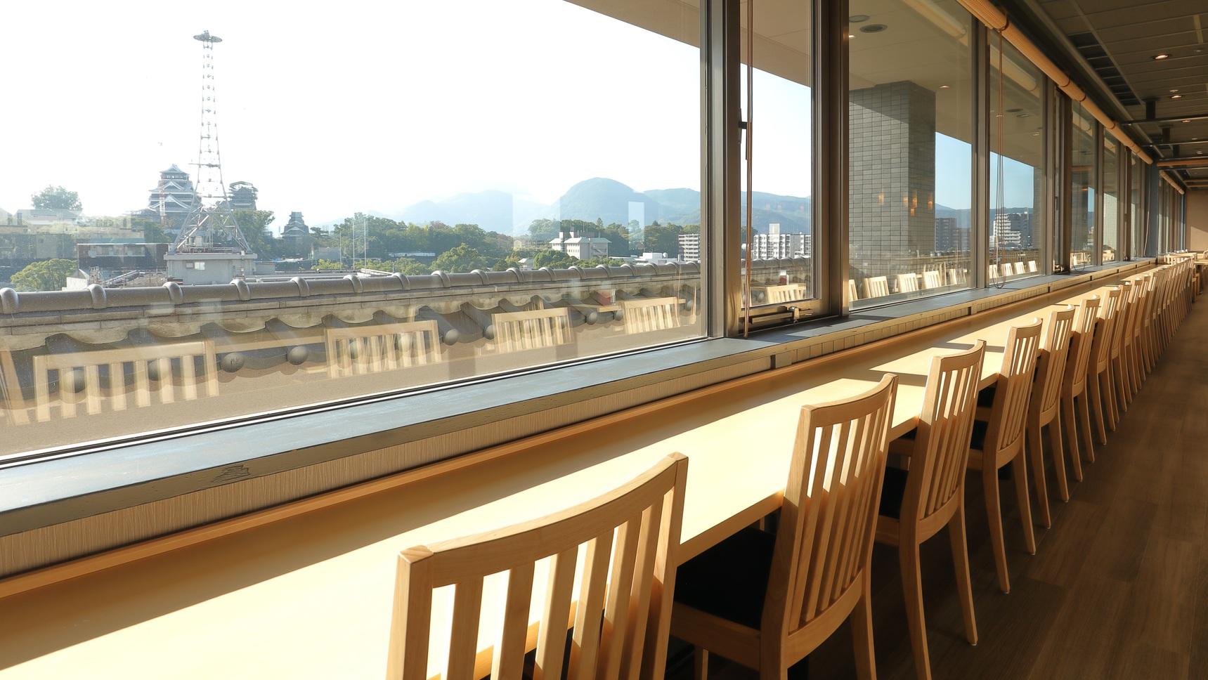 <六花−Rokka−>お一人も2名様でものんびり朝食を楽しめるカウンター席