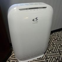 加湿空気清浄器、全室設置★