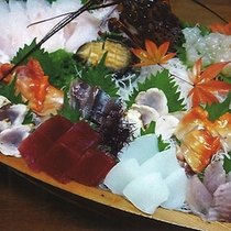 【追加料理】舟盛り(三人前)一例
