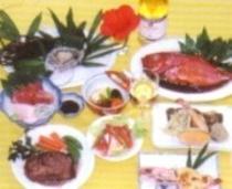 お夕食の一例
