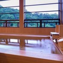【露天風呂付客室】6階「月代」客室露天風呂