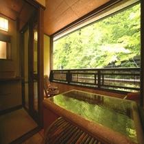 【露天風呂付客室】6階「有明」客室露天風呂