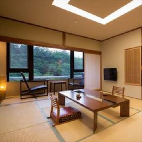 【露天風呂付客室】6階「月代」本間