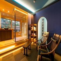 【露天風呂付客室】6階「月代」リラクゼーションルーム