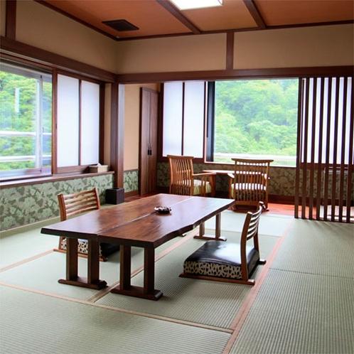 【露天風呂付客室】「青嵐」客室