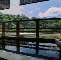 【別邸そらの庭】4階「竜田」客室露天風呂