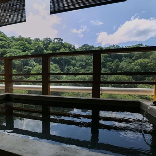 【露天風呂付客室】4階「竜田」客室露天風呂