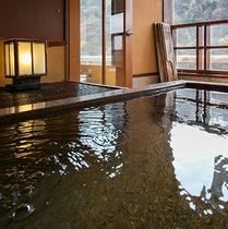 【露天風呂付客室】5階「青嵐」客室露天風呂