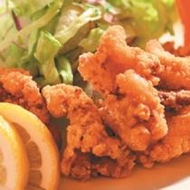 別注料理:上州地鶏の唐揚げ