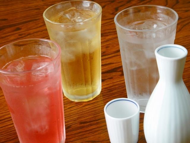 酒またはグラスドリンク