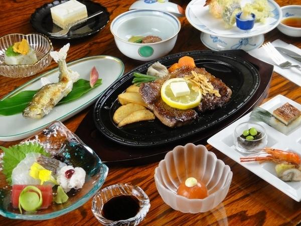 飛騨牛ステーキ付会席料理