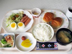 軽朝食例 6:30〜9:00 本館8階