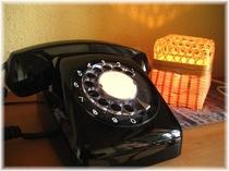 レトロ黒電話
