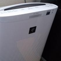 加湿機能付き空気清浄機でお部屋の空気もきれいに♪