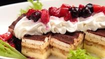 プレミアムビュッフェ充実のデザートコーナー