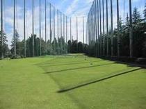 ゴルフ練習場 超天気がいい日