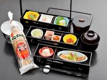 ご朝食は和定食でご用意いたします。