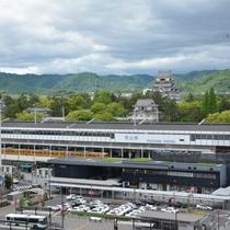 ◆福山駅と福山城