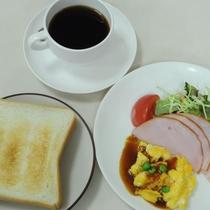 ◆無料サービスの軽朝食