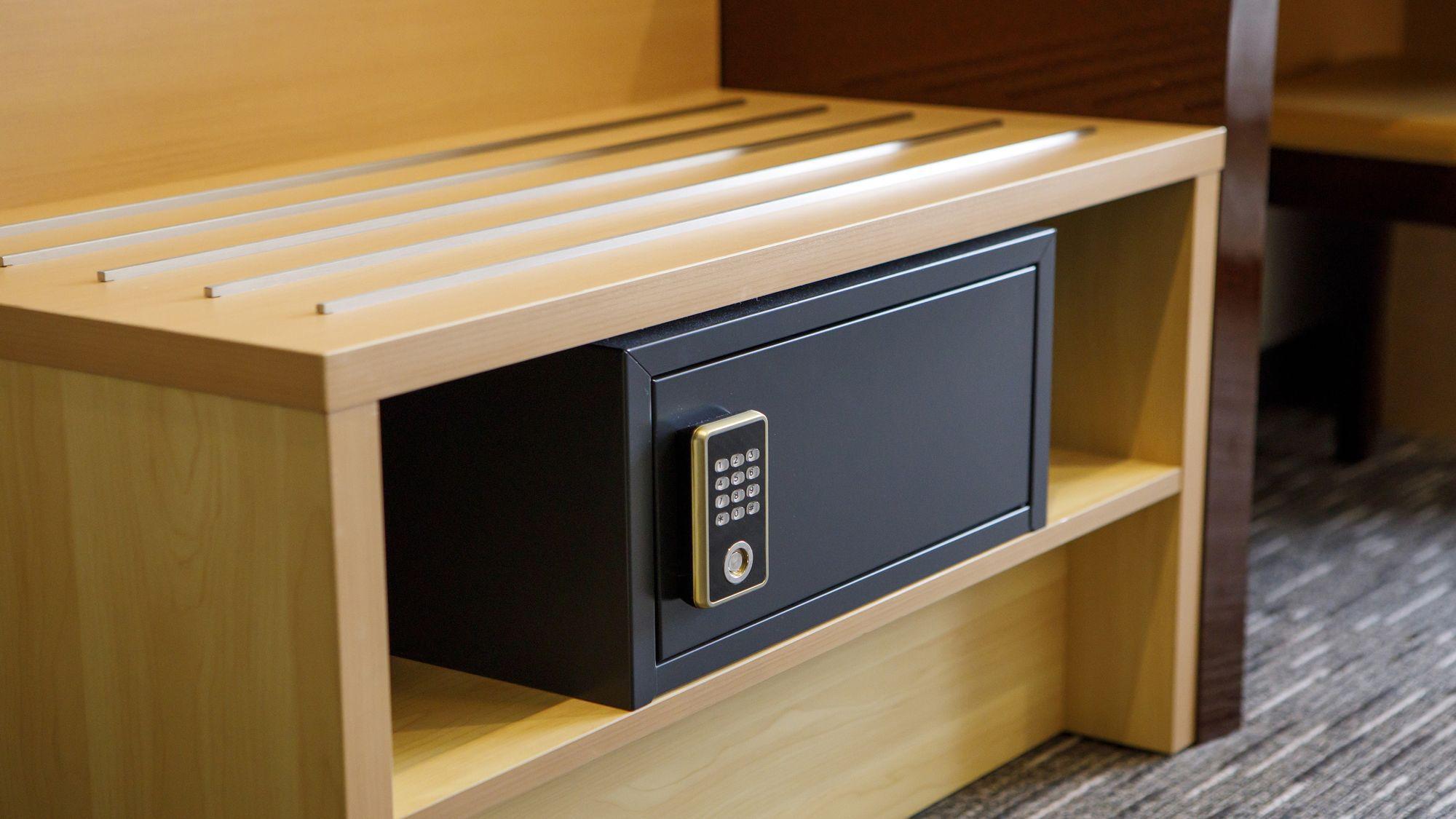 客室備品 貴重品BOX(暗証番号式)