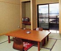 鳴門海峡一望の客室