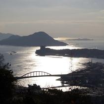 広島黄金山から見た風景