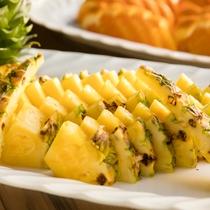 ◇朝食一例◇ パイナップル
