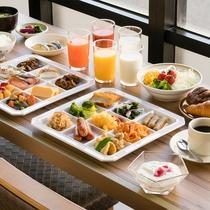 ◇和洋バイキング朝食◇ 盛り付け一例