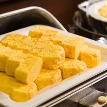 日替わりの卵料理 一例(出し巻卵)