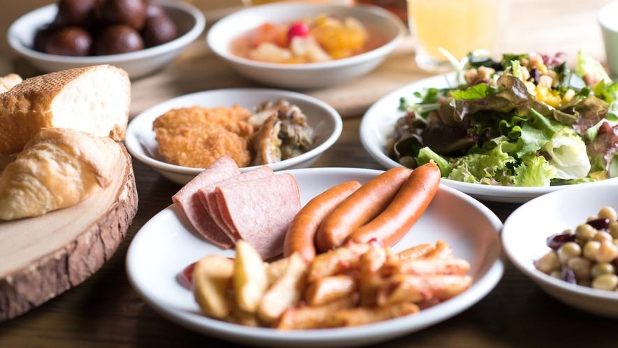 <朝食>人気イタリアンレストラン「サルヴァトーレ クオモ & バール」のご朝食をお楽しみください