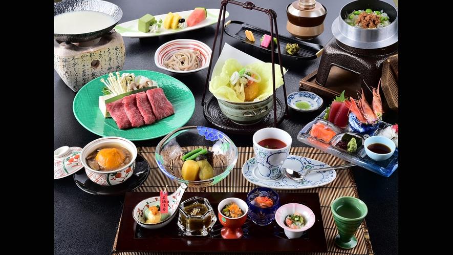 一番人気の「味覚祭」シリーズ(写真は夏のお料理)